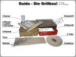 Guido-Die Grillbox! - 31-teilig
