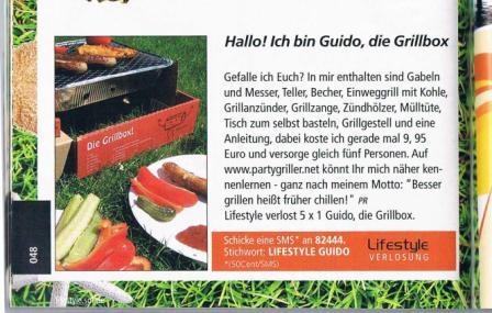 Guido-Die Grillbox! Lifestyle